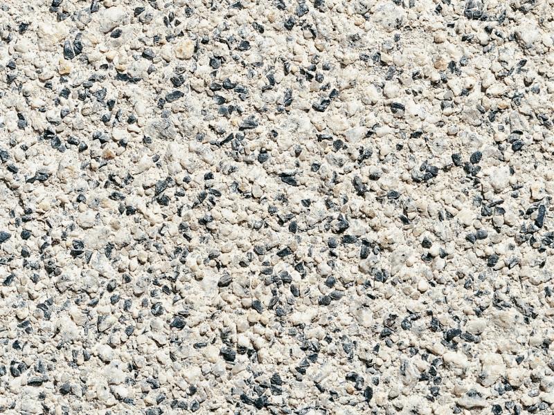 Granit gestrahlt