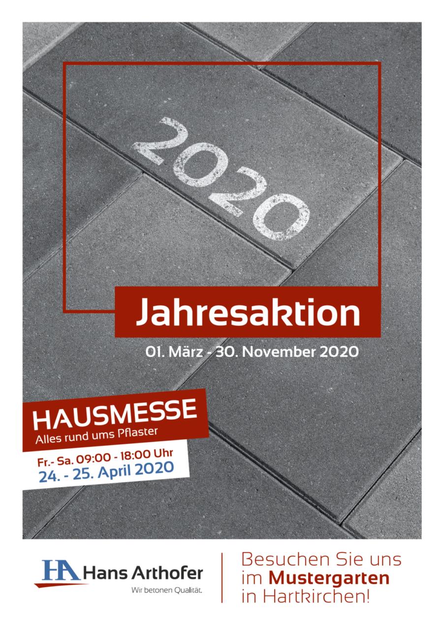 Jahresaktion Betonsteine und Natursteine OÖ 2020